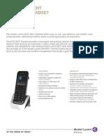 E2013061648EN DECT Handset R1.1.0 Datasheet