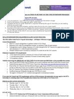 General Procedures for Coordinators Summer 2017-Students