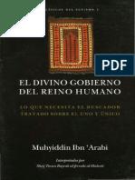 El Divino Gobierno Del Reino Humano Ibn Arabi.pdf