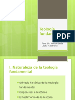 Teologia Fundamental Cap I