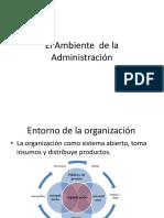 2. El Ambiente de La Administración