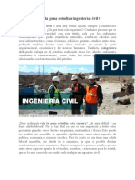 Vale La Pena Estudiar Ingeniería Civil