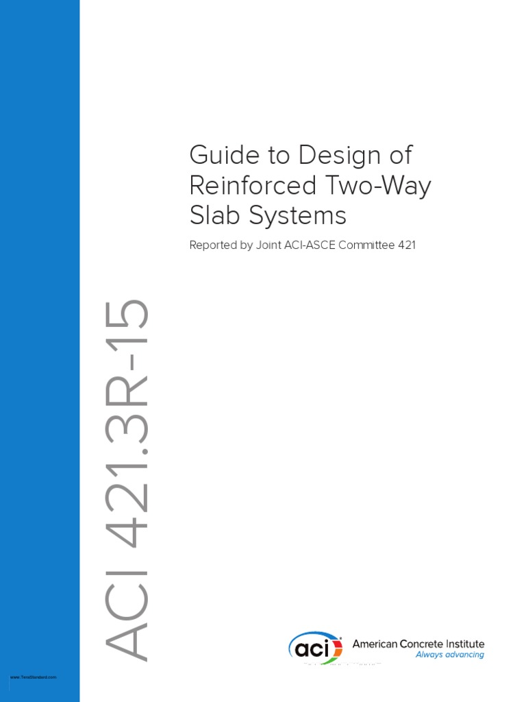 Aci 4213r 15 guide to design of reinforced two way slab systems aci 4213r 15 guide to design of reinforced two way slab systems beam structure prestressed concrete fandeluxe Image collections