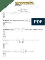 2014.Uninovafapi.lista.de.Exercicio.matrizes.e.determinantes.1