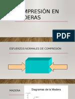 Compresión en Maderas