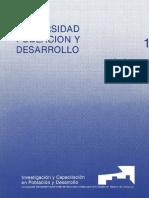 Universidad Población y Desarrollo Tomo León 1