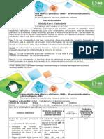 Guía de Actividades y Rubrica de Evaluación Fase I - Exploratoria