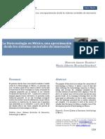 Art Cientifico Biotecno Mexico Aproxima Sistemas Sectoriales Innova