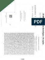 WEBER - Sociología de La Dominación Pp. 695-716 y 847-888