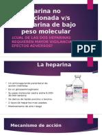 Heparina No Fraccionada V
