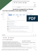 Supercarga tu historial de navegación en Chrome con más funciones y una mejor interfaz