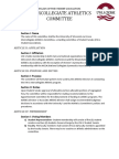 Athletics Bylaws (Revised 5-4-11)
