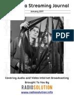 The Media Streaming Journal - Jan 2017