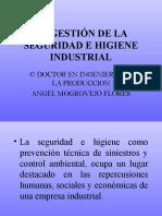 La Gestión de La Seguridad e Higiene Industrial