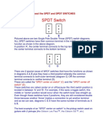 Spdt and Dpdt Switches