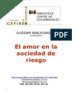 Selección Bibiográfica a Educació Afectivosexual