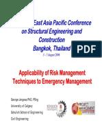 Applicability of Risk Management Emergency_management_slides