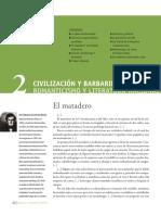 Romanticismo y Literatura Nacional_Civilización y Barbarie