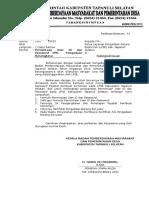 Formulir Permintaan USER ID Dan PASSWORD PPK