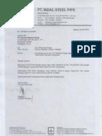 Konfirmasi PO Pipa & Accesories