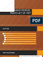 Indigenous Peoples Rights Act of 1997
