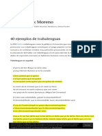 40 Ejemplos de Trabalenguas _ Blog de Jack Moreno