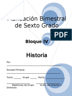6to Grado - Bloque 4 - Historia.doc