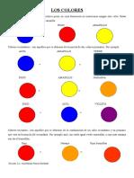 Los Colores, Dactilo Pintura y Esgrafiado
