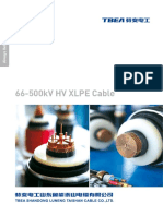 Catalogue of 66-500kV HV Cables