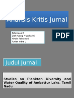 Analisis Kritis Jurnal