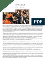 Filosofía de Louis Van Gaal _ FutbolOfensivo