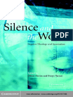 Davies and Turner - Silence and the Word,  Negative Theology and Incarnation.pdf