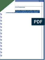 Fin Del Proceso Penal en Guatemala y Algunos Principios y Garantías.