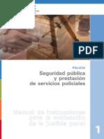 La Seguridad Publica y La Funcion Policial Udc