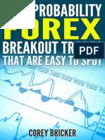 High Probability Forex Breakout - Corey Bricker