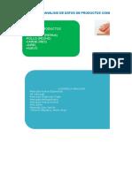 Tarea Analisis de Datos 5 Productos