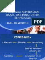 Mengenali Kepribadian Dan Minat 2011