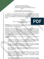 IRR RESA (PRBRESVer.1) (Consultation Draft)