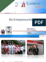 Bio Entrepreneurship
