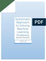 Workshop ML Pre-requisites