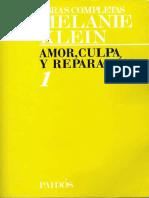 TOMO 1. Amor, culpa y reparación [Melanie Klein].pdf