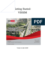 Getting Started VISSIM 6