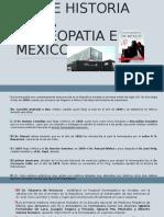 Breve historia Homeopatia en México
