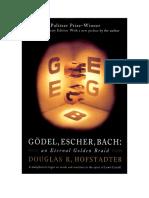 Douglas Hofstadter - Gödel, Escher, Bach - An Eternal Golden Brfaid