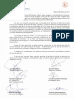 Carta Dirección