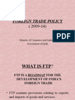 Foreign Trade Policy 2009-14-2011