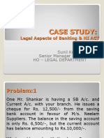 Case Study Legal Aspects & NI Act