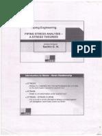 Piping Stress Analysis-Stress Theories