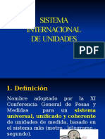 Sistema Internacional Unidades