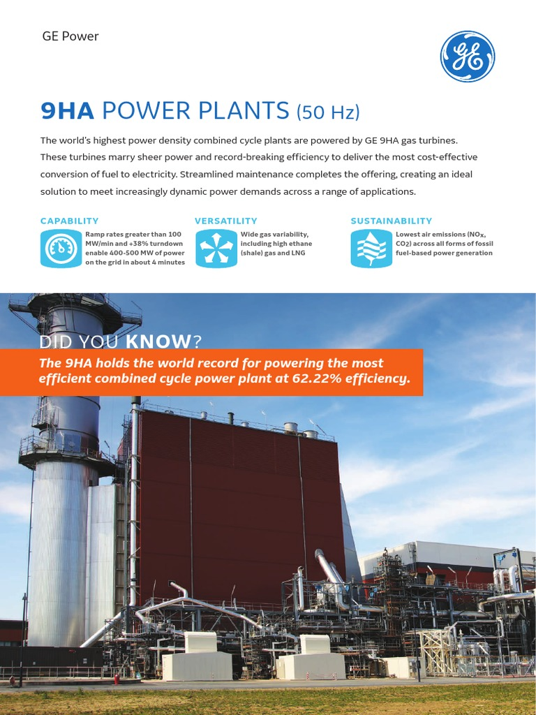9ha Power Plants | Gas Turbine | Power Station